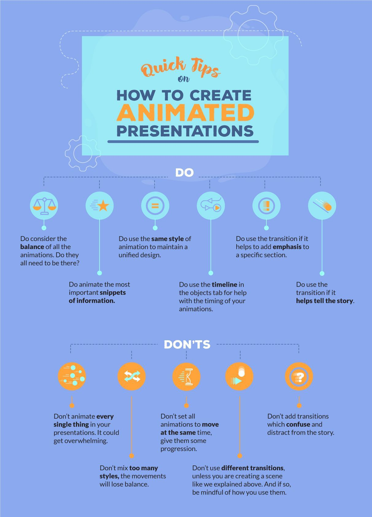 Quick Tips for Using Animation in Your Presentations