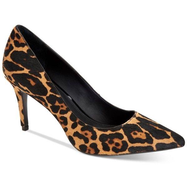 Gayle Leopard Calf Hair Pumps h5x5k3LK