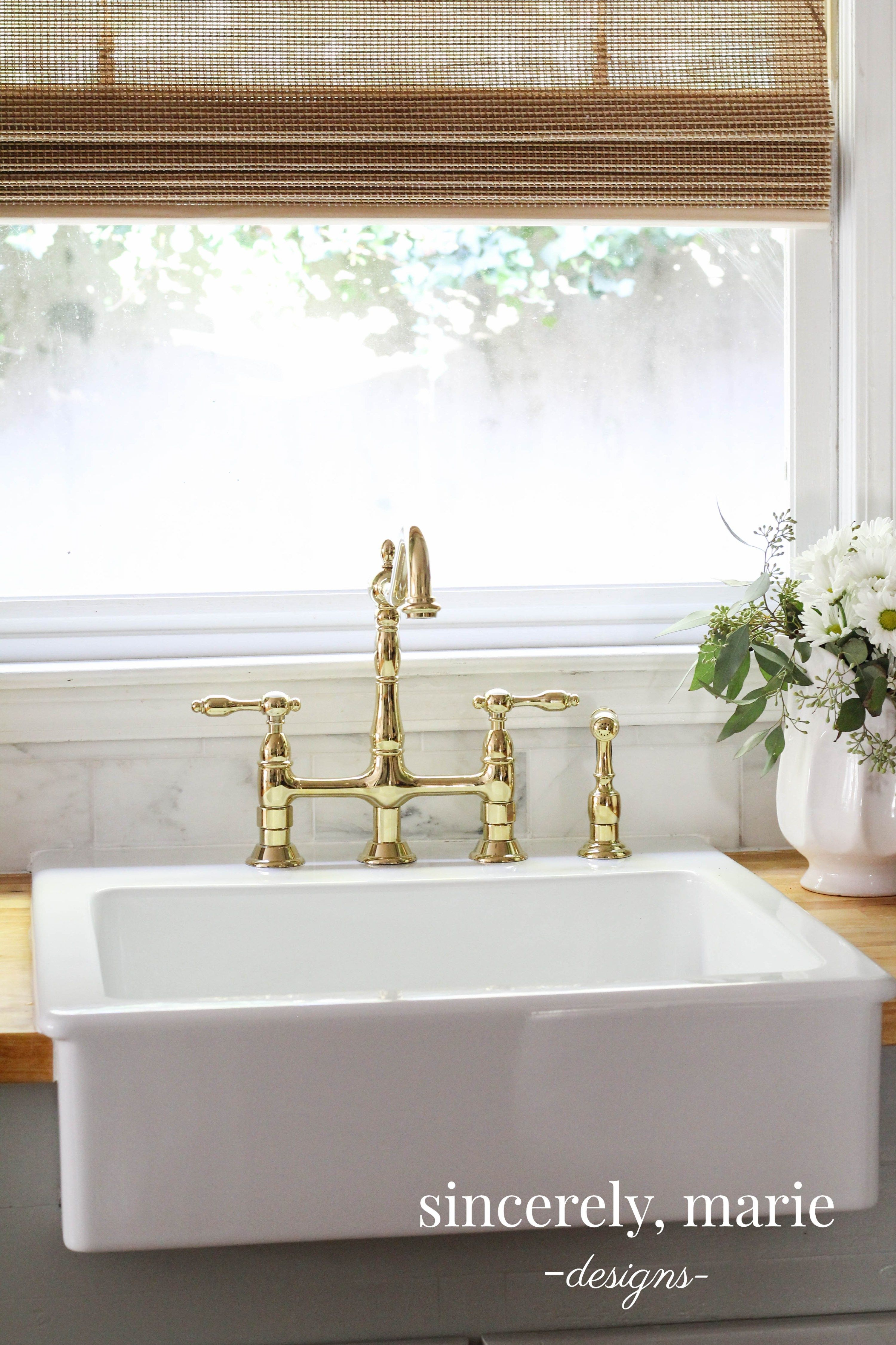 How-To Add Additional Holes to an Ikea Apron Sink   Apron sink ...
