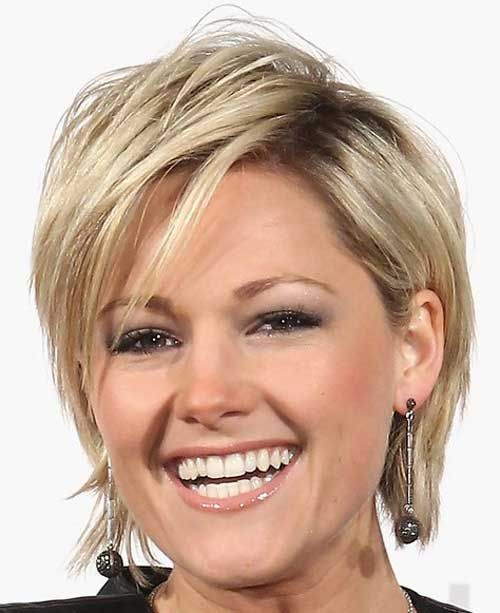 Cute short hair with side bangs Hair styles Pinterest