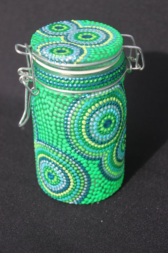 paintedmasonjars Painted Mason Jars Incredibly