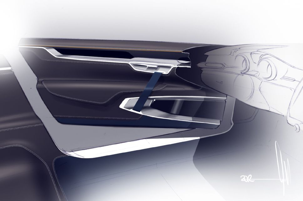 Volvo Concept Coupe Interior Door Panel Render & Volvo Concept Coupe Interior Door Panel Render | VOLVO Interieur ... Pezcame.Com