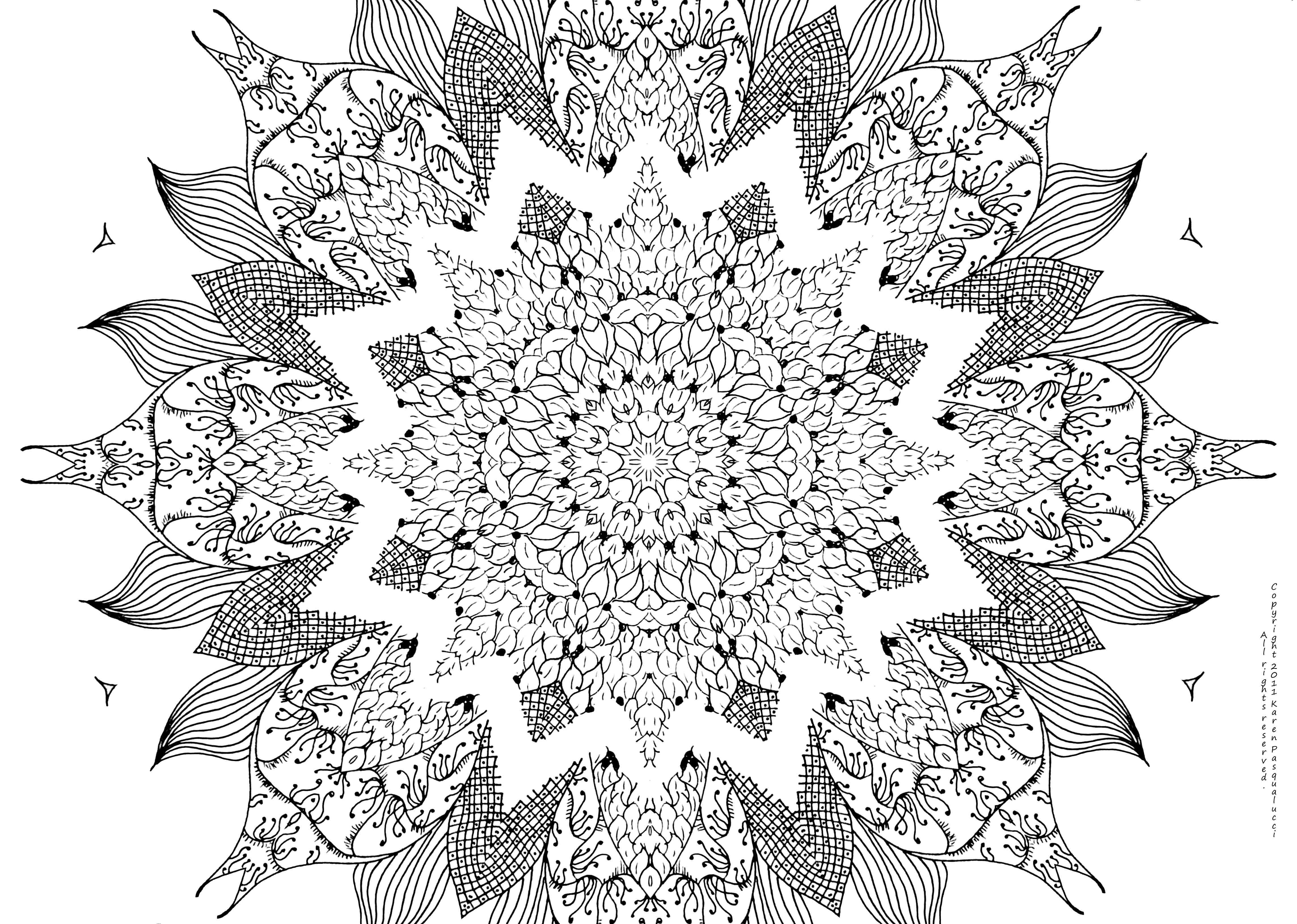 Free Mandala Coloring Page Abstract Coloring Pages Mandala Coloring Pages Mandala Coloring