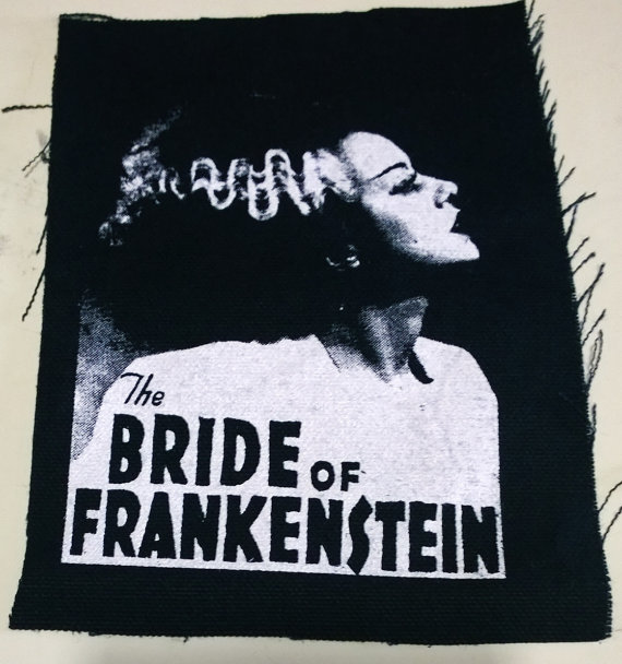 Bride of Frankenstein patch Horror elsa lanchester