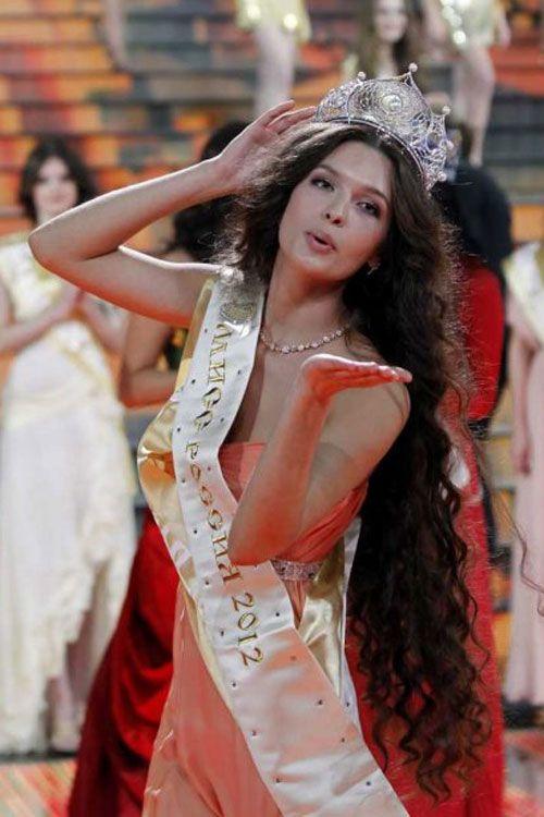 Miss Russia 2012, Elizaveta Golovanova   Sorriso lindo