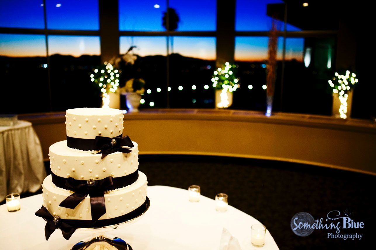 Cake and a Tucson sunset!