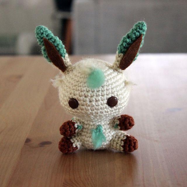 Ravelry: Leafeon Amigurumi pattern by Clare Heesh   Crochet I Like ...
