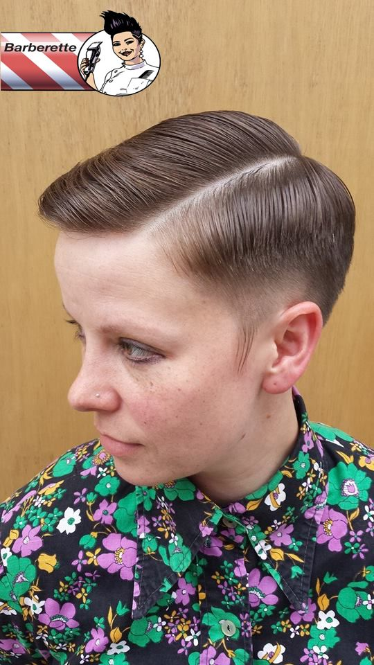 Old School Classic Cuts Barberette Snip Kutz Barber Hackney Dalston