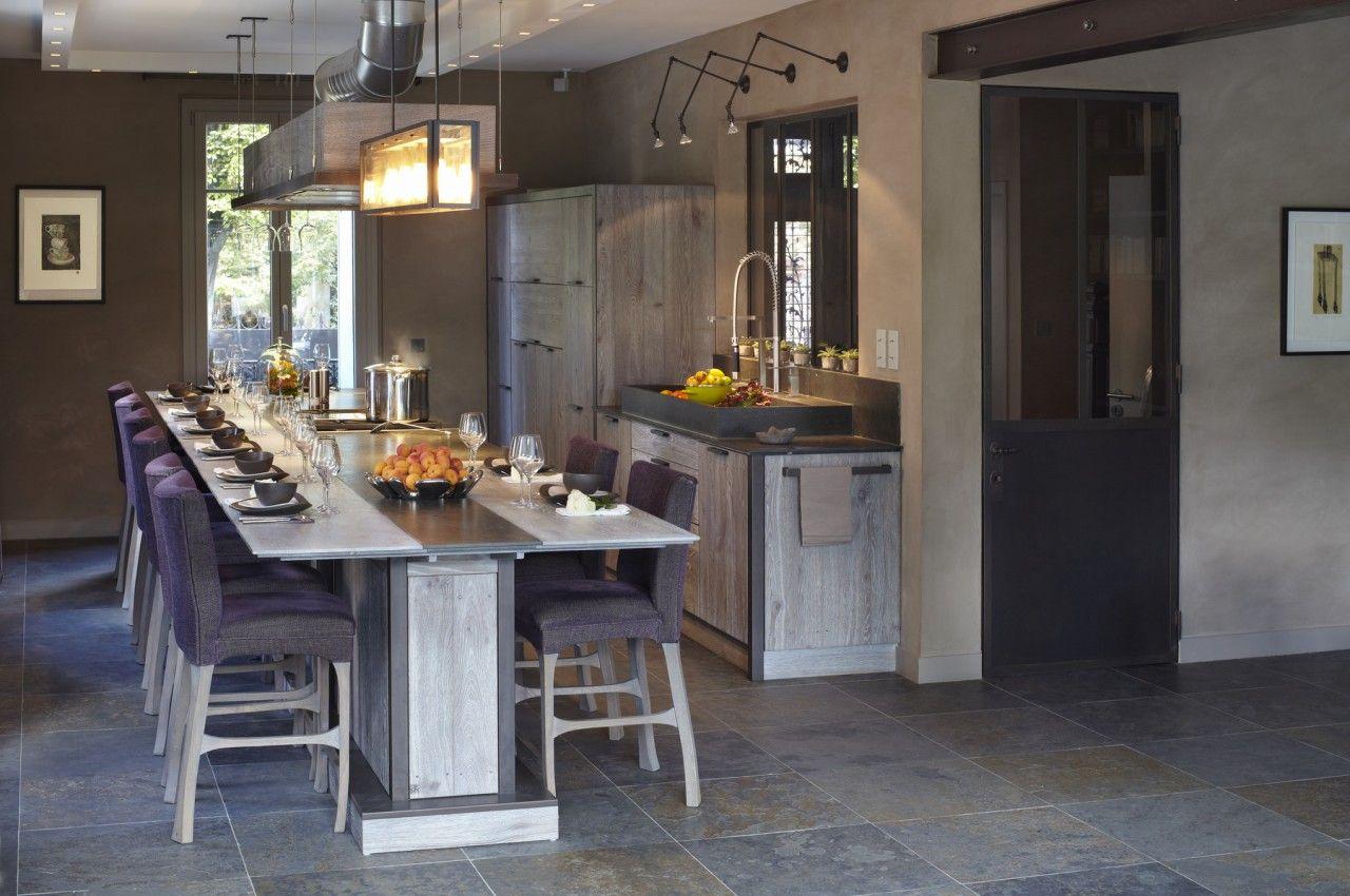 My style of kitchen home cuisine contemporaine conception cuisine et les plus belles cuisines - Belles cuisines contemporaines ...