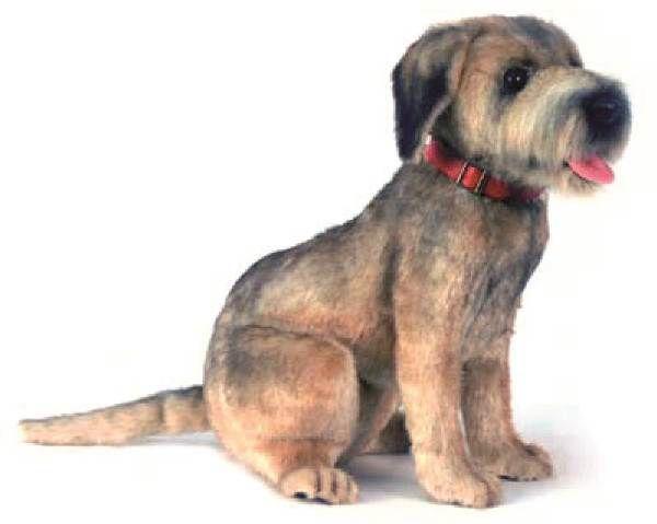 Hansa 4568 Border Terrier Sitting Border Terrier Terrier Plush
