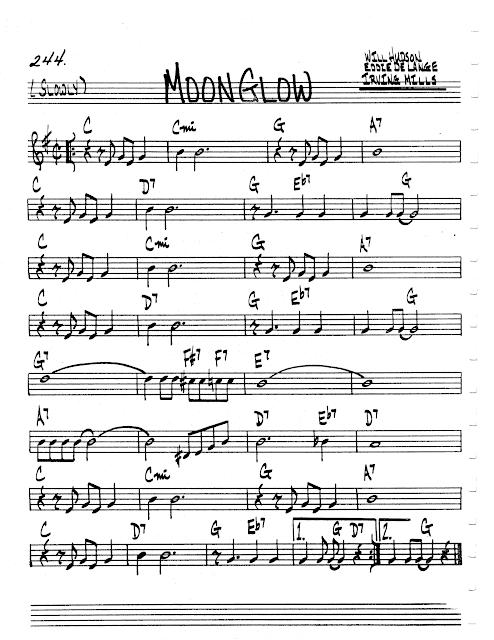 [Jazz Real Book II : Page 244] Moonglow (Husdon-Lange ...
