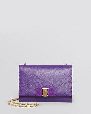 Salvatore Ferragamo Miss Vara Bow Grape Mini Bag   650.00   PURSES ... 4d96019616