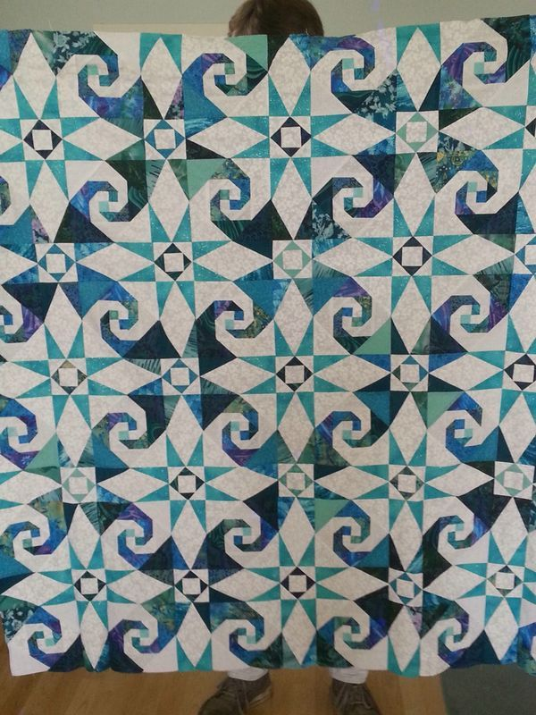 Pin By Annette Ekkel On Quilts Ocean Quilt Storm At Sea Quilt