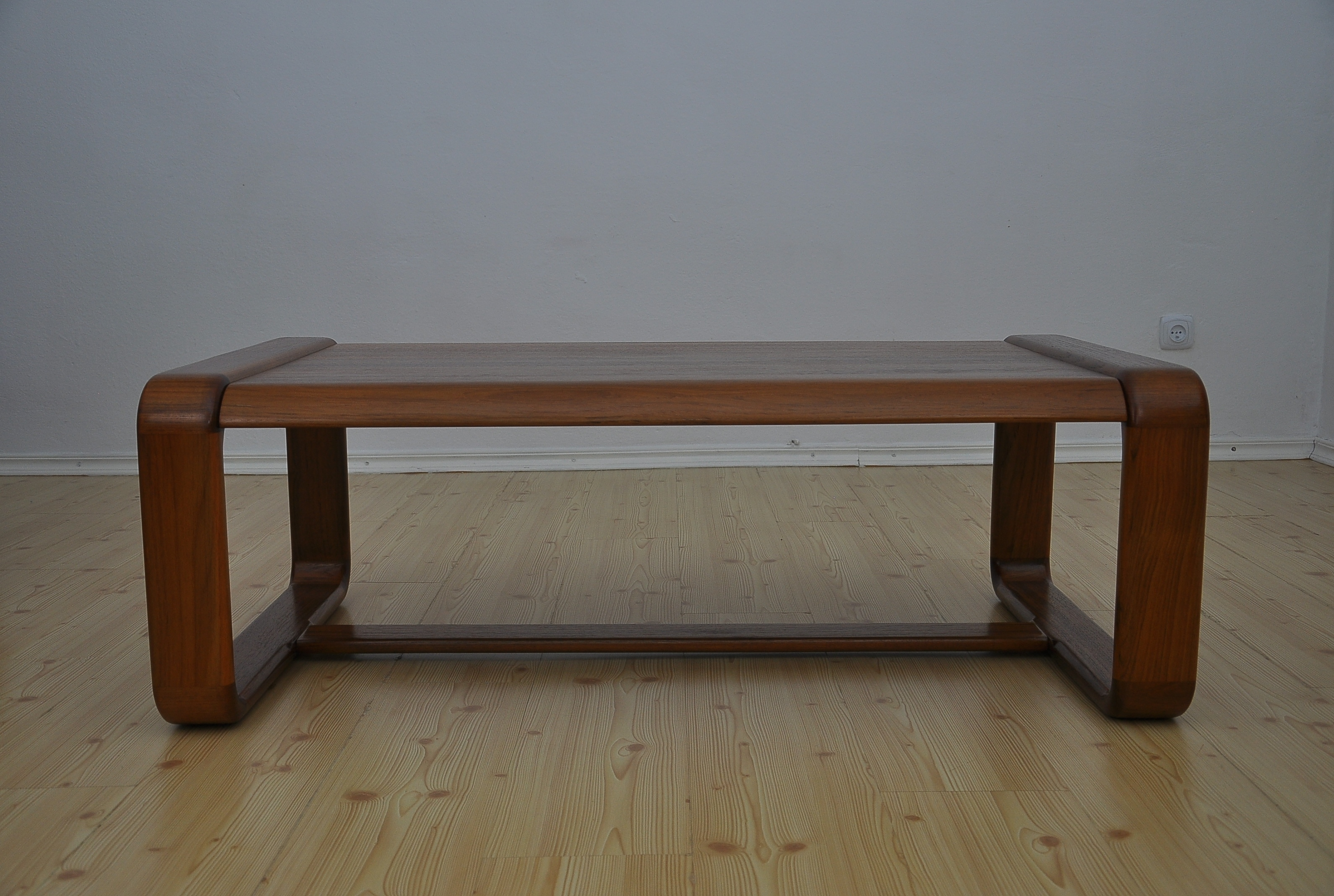 Solid Teak Coffee Table 1970s Vinterior Co Teak Coffee Table Table Teak