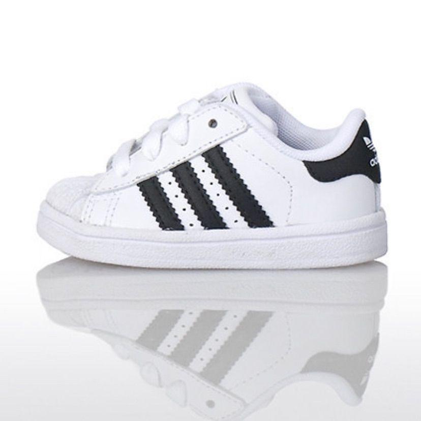 Adidas Shoes Adidas Superstar Ii Kids Size 8k Color Black