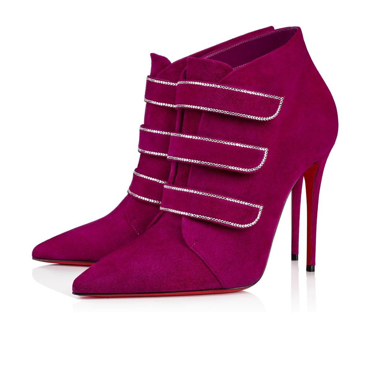 Trini Boot Richelieu Suede Women Shoes Christian