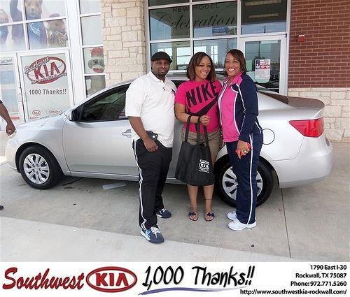 Southwest Kia Rockwall >> Southwest KIA of Rockwall would like to say Congratulations to Cynthia Rush on the 2012 Kia ...