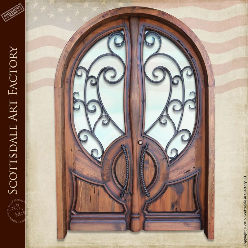 homely idea personalized door knocker. French Door Full Arch by H J Nick  Custom Wood Doors HRD997
