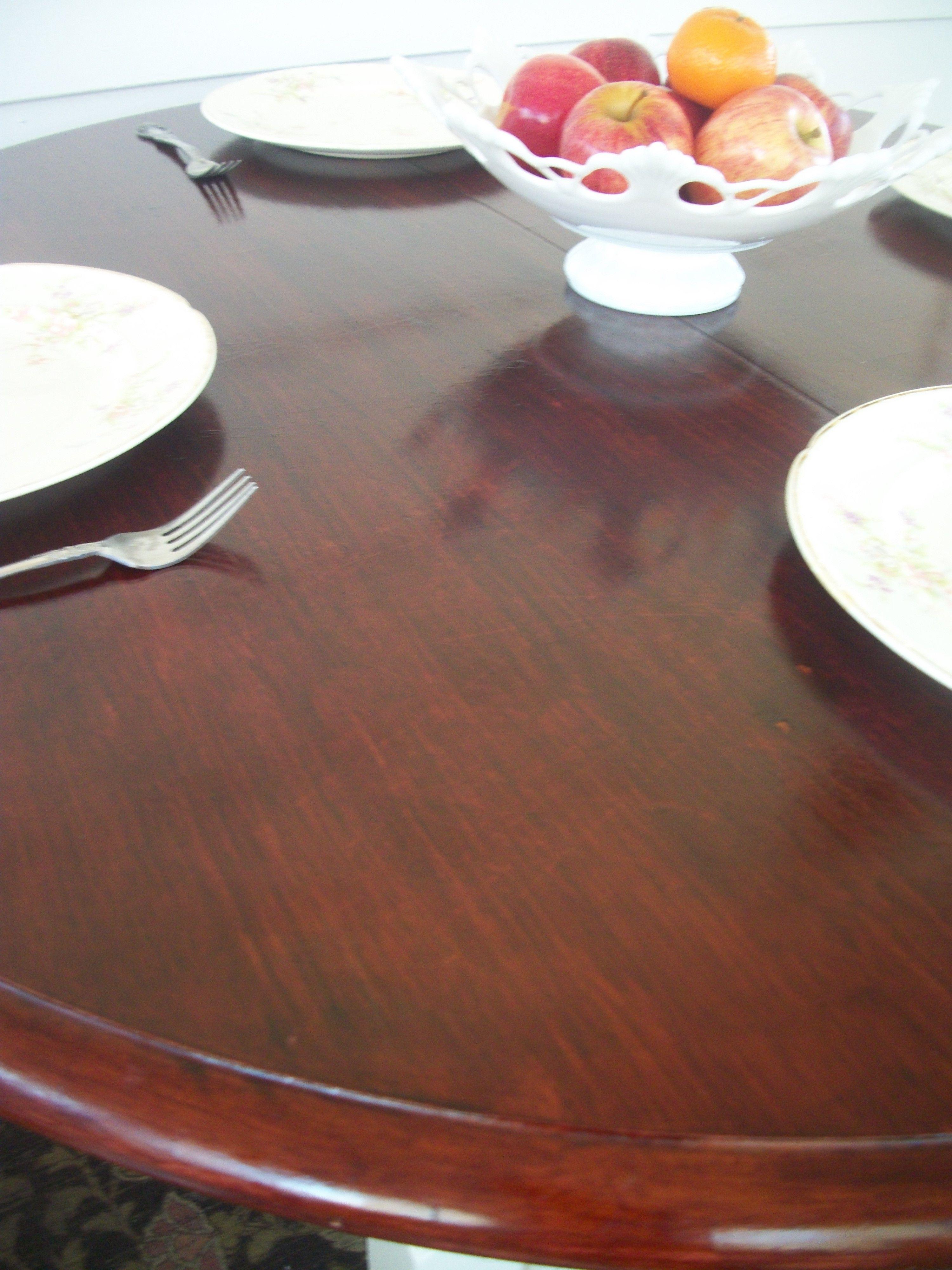 Antique farmhouse table vintage farmhouse table  bombay mahogany stain uc  shabfabulous