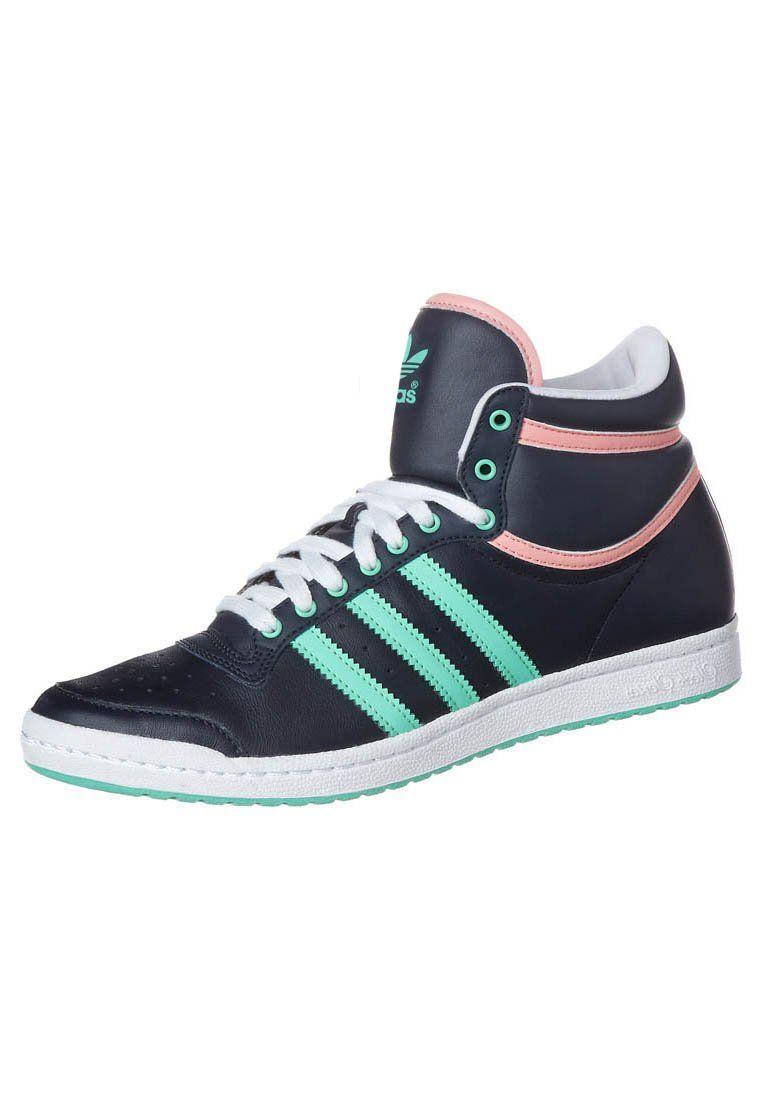 adidas Originals - TOP TEN HI SLEEK W - Korkeavartiset ...