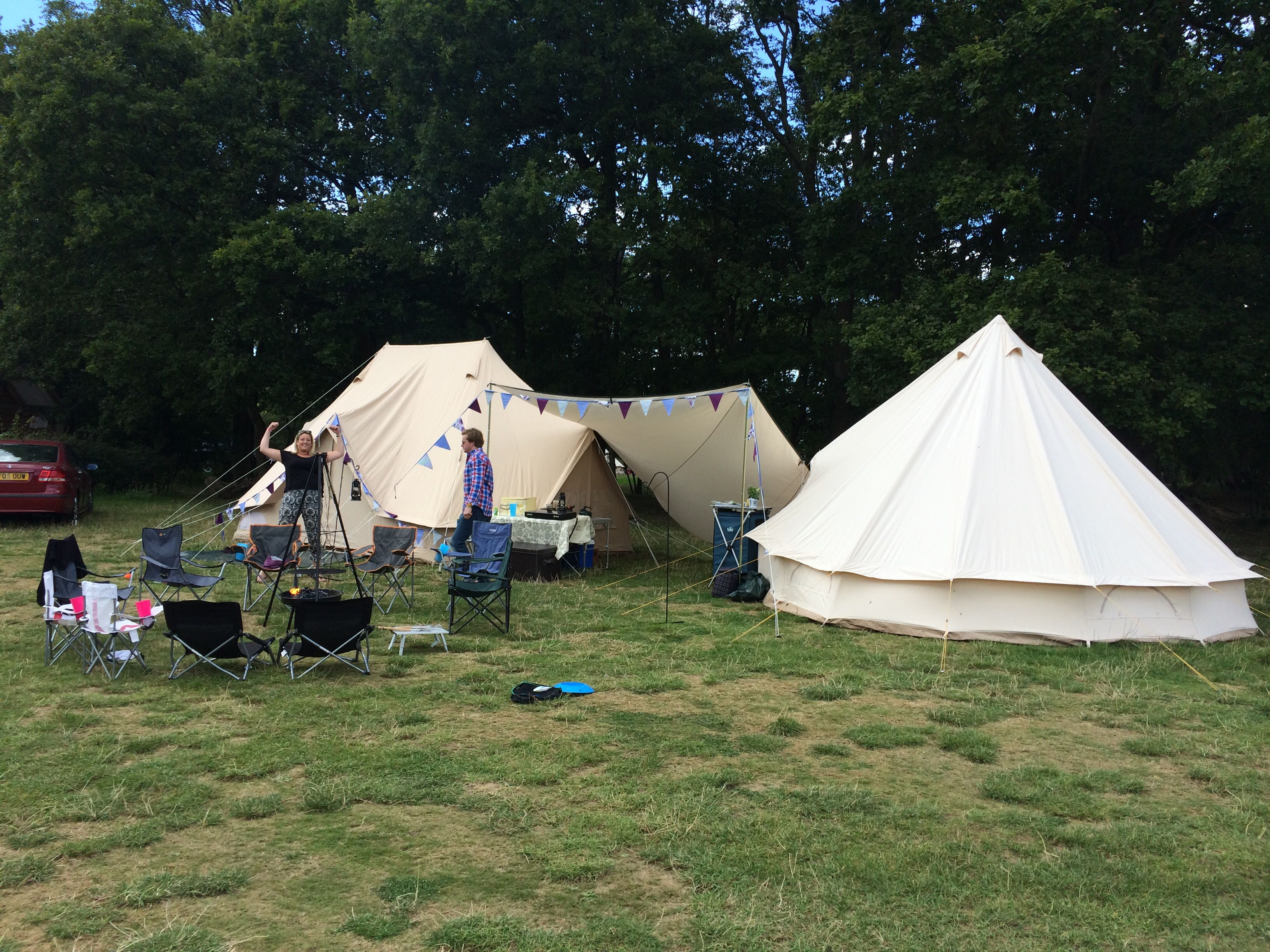 Joined our Emperor Bell tent and Soulpad bell tent & Joined our Emperor Bell tent and Soulpad bell tent | Camping ...