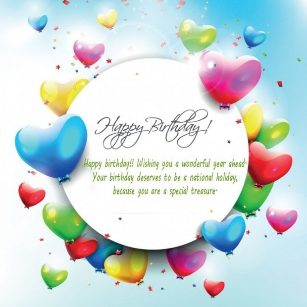 Free Greeting Cards Happy Birthday Balloons Quotes 4 Szletsnap