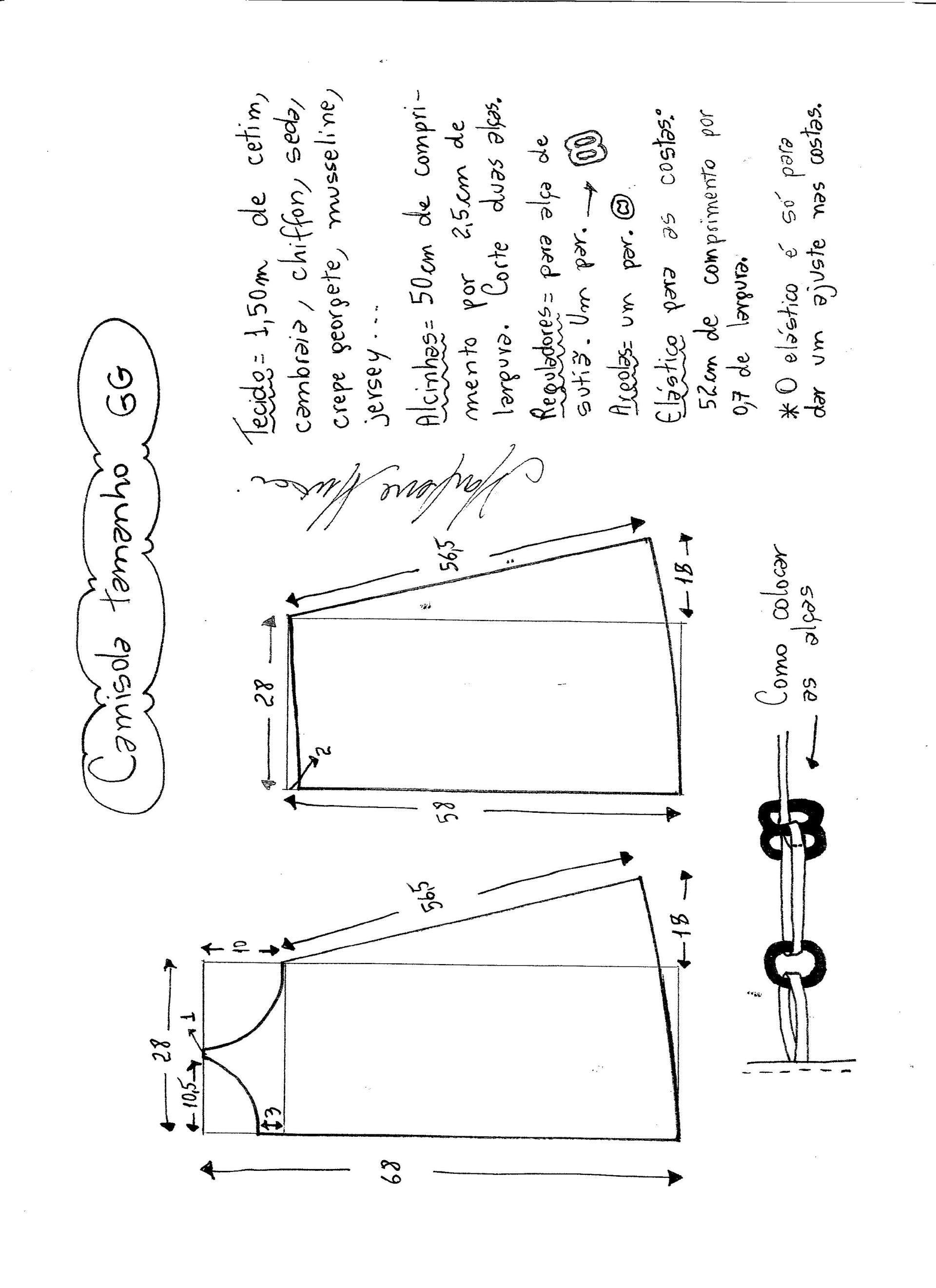 Patrón de camisón | costura | Pinterest | Sewing, Dresses y Lingerie