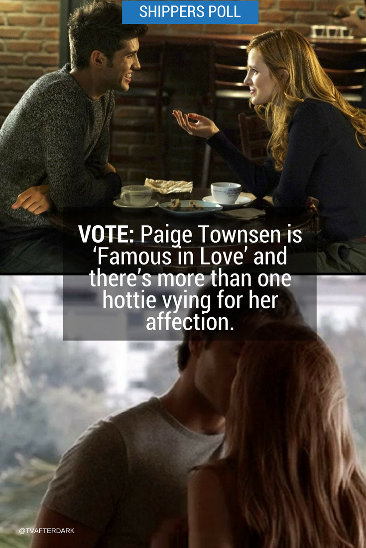 POLL: Help Paige choose the man of her dreams. Visit this link and vote now! #FamousInLove