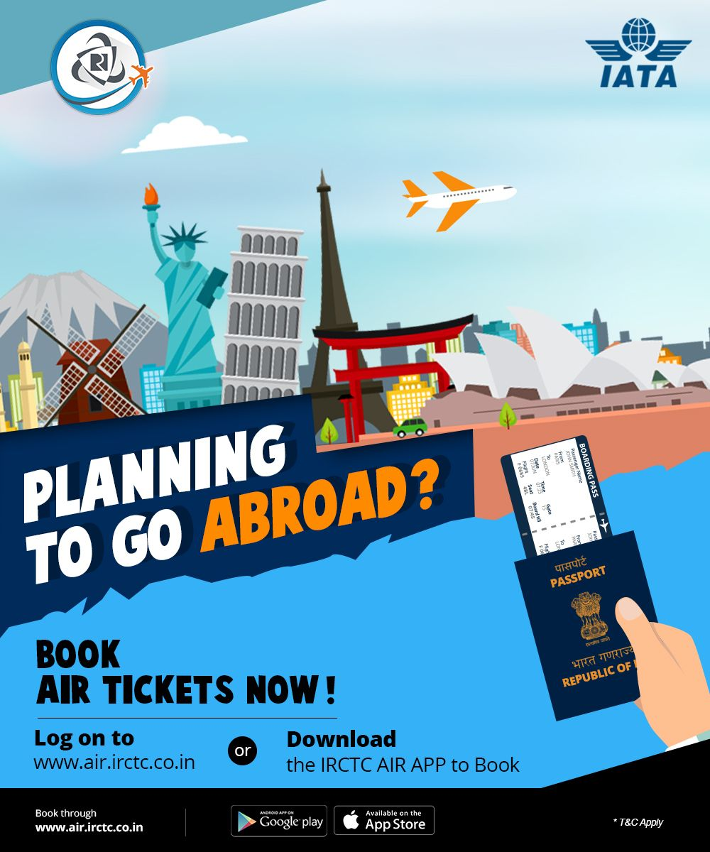 Planning to go abroad? Book Air Tickets Now!. Log On to
