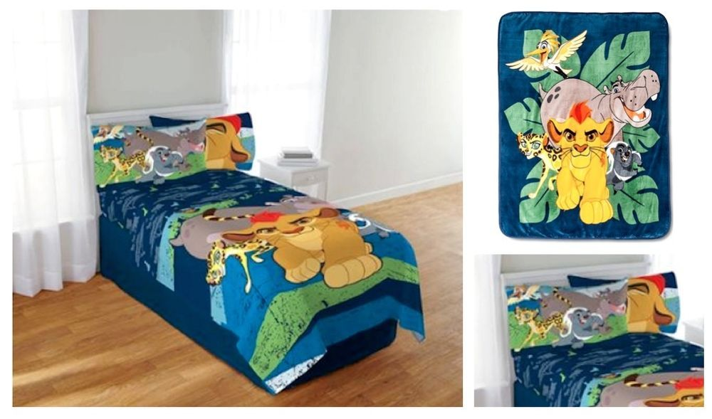 Kids Disney The Lion Guard Bedding Bed In A Bag