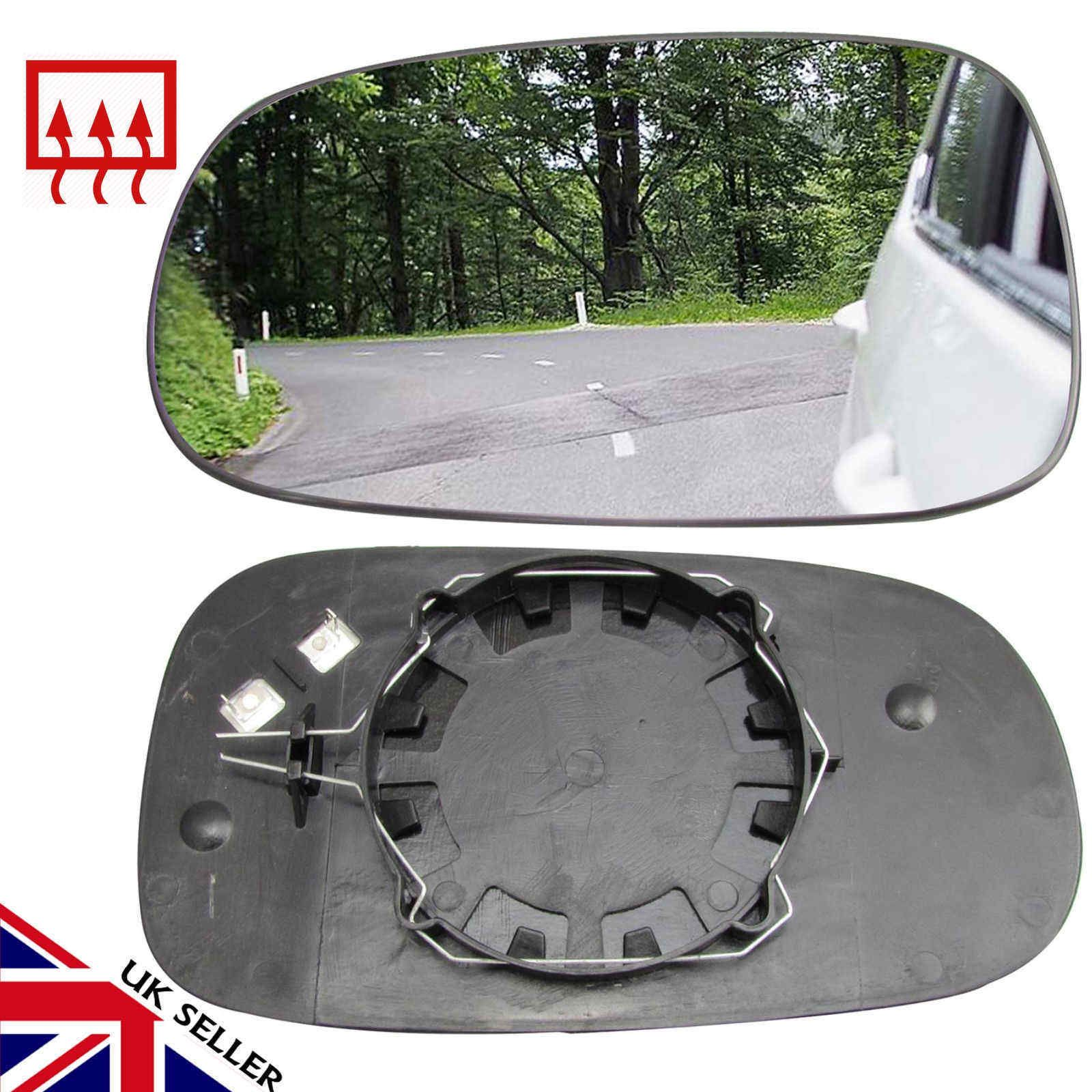 Right Driver side wing mirror glass for BMW 3 series 1998-2005 saloon estate