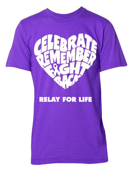 Relay For Life Shirt Designs   Relay For Life Celebrate Remember Fight Back Tee Fundraising And Craft