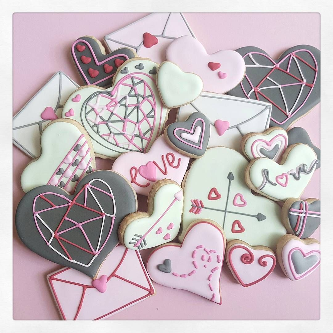 """""""Custom Valentine's collection ♡ Email ajcpatisserie@gmail.com for order details."""