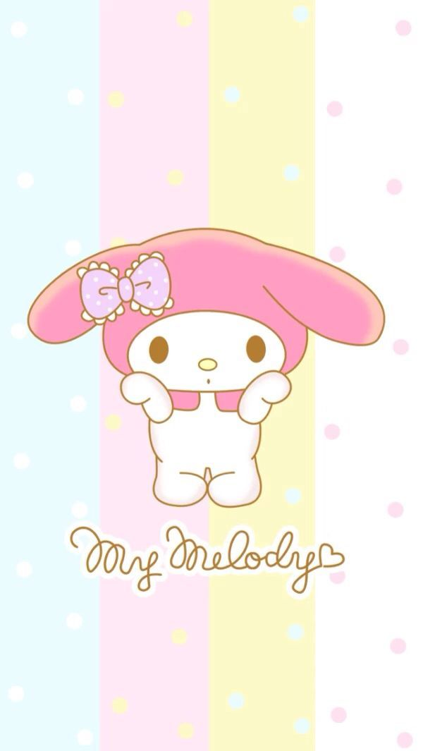 Super cute Love Wallpaper : My Melody Find more super cute kawaii wallpapers for your #iPhone + #Android @prettywallpaper ...