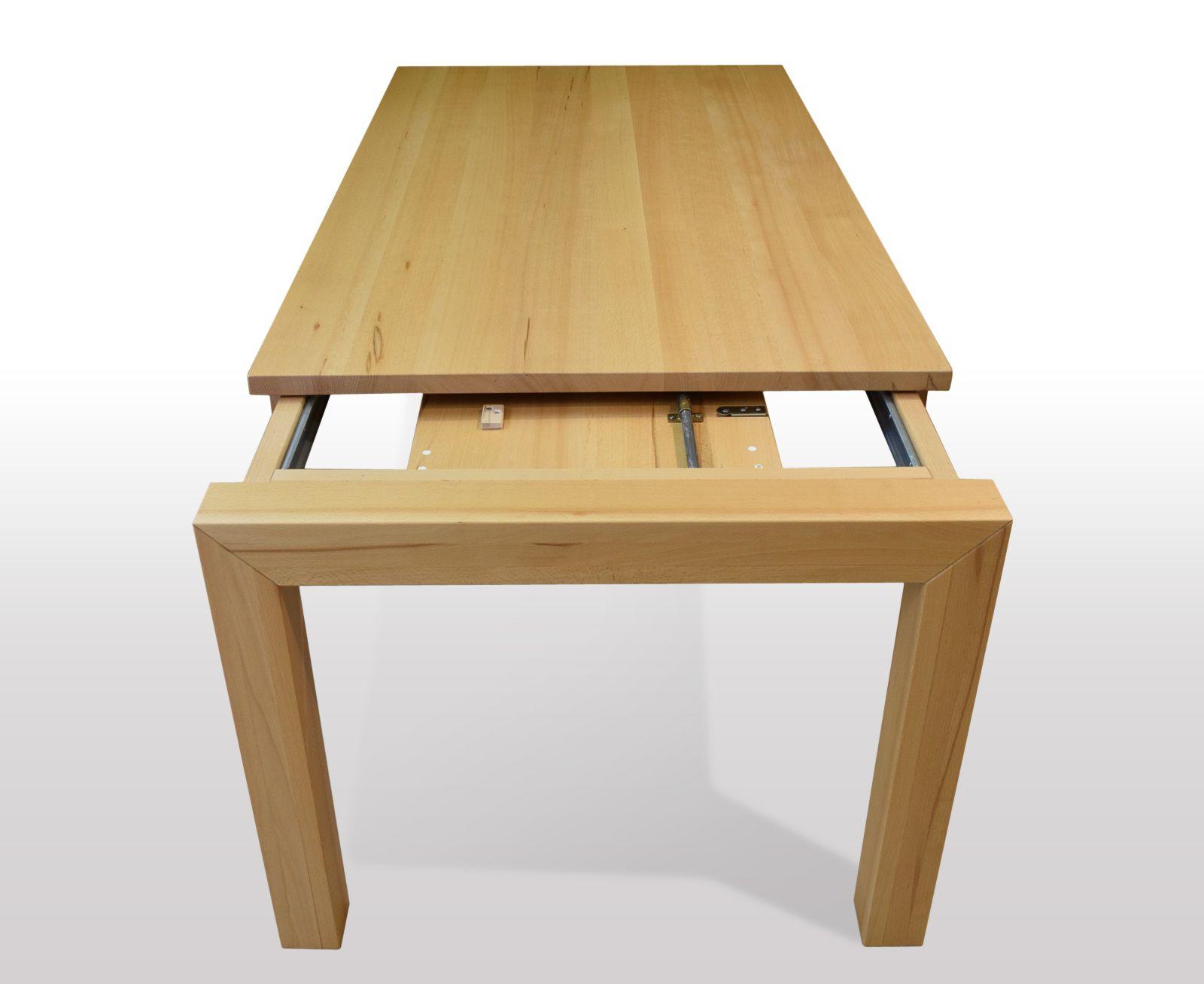 Tisch Buche massiv Breite 110cm / Länge wählbar