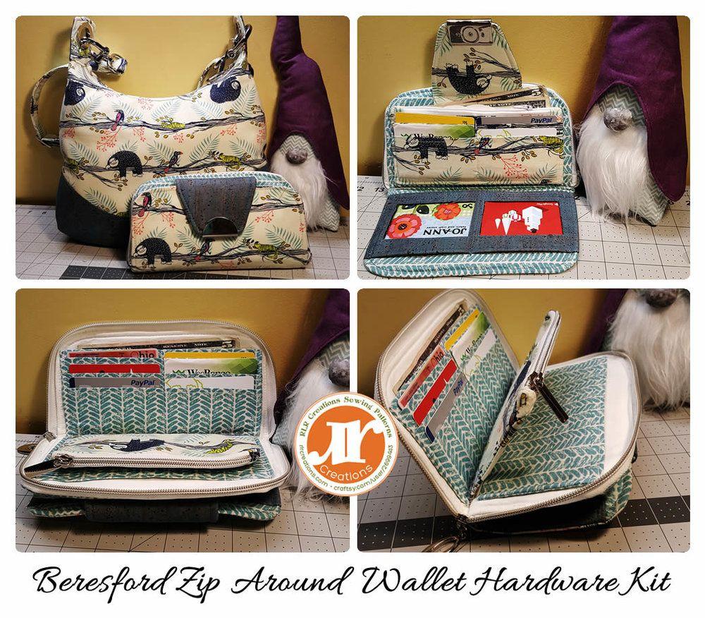 Beresford zip around wallet zip around wallet wallet