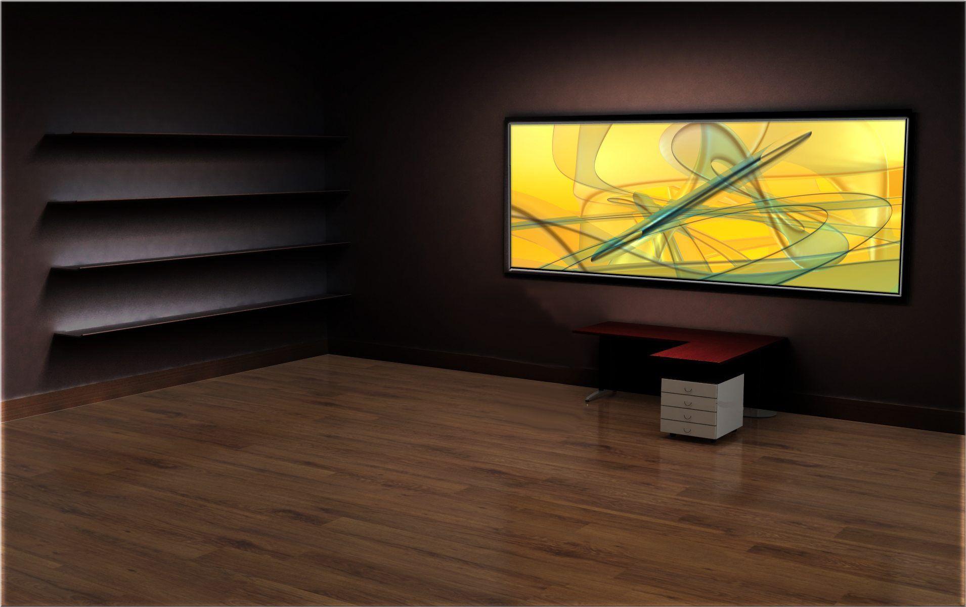 Classic 3d Desktop Workplace Wallpaper Office Desktop Backgrounds Type B Hd Wallpaper From