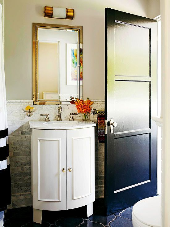Freshen Your Bathroom With LowCost Updates Pinterest Vanities - Low cost bathrooms
