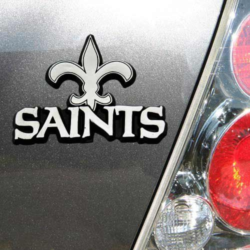 NFL New Orleans Saints Chrome Automobile Emblem by Team ProMark ...