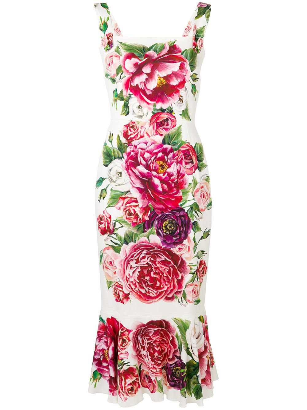 Dolce Amp Gabbana Floral Printed Dress With Images