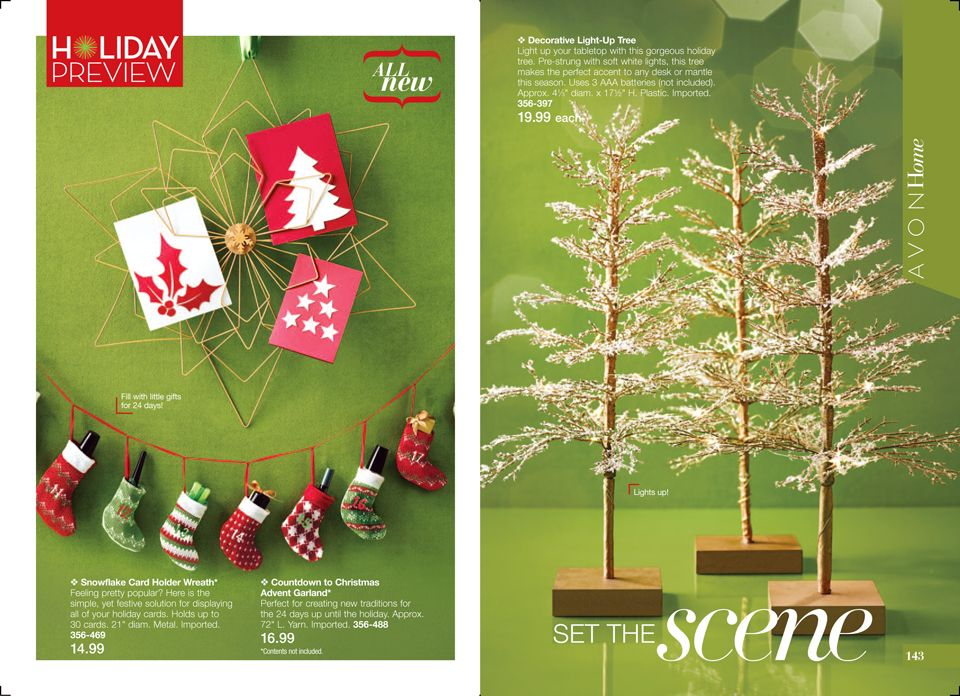 Avon Home Holiday Preview  Pages Of Great Holiday Finds Im Loving