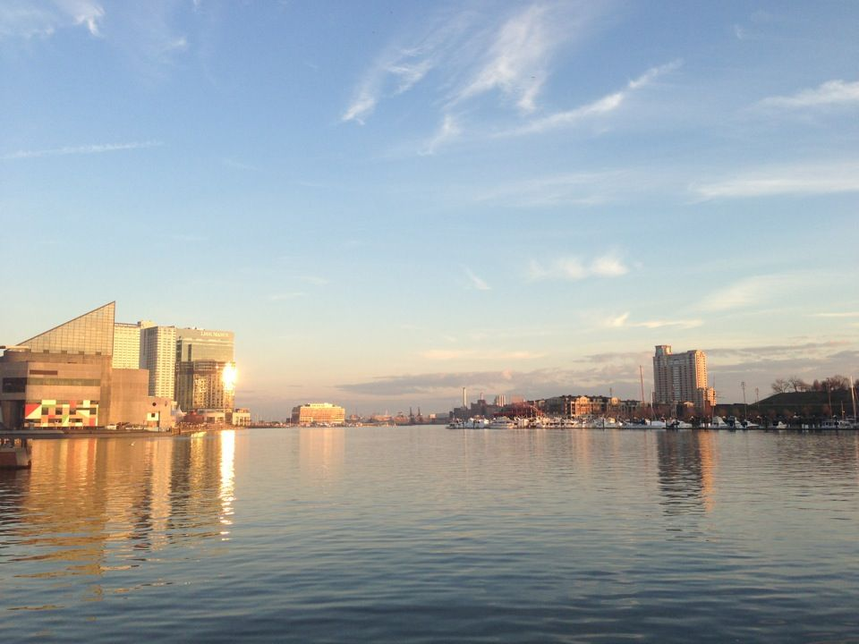 """Called """"the model for post-industrial waterfront redevelopment around the world"""" by the Urban Land Institute, Inner Harbor is a tourist attraction, historic seaport and has hosted events like the 1976 Bicentennial."""