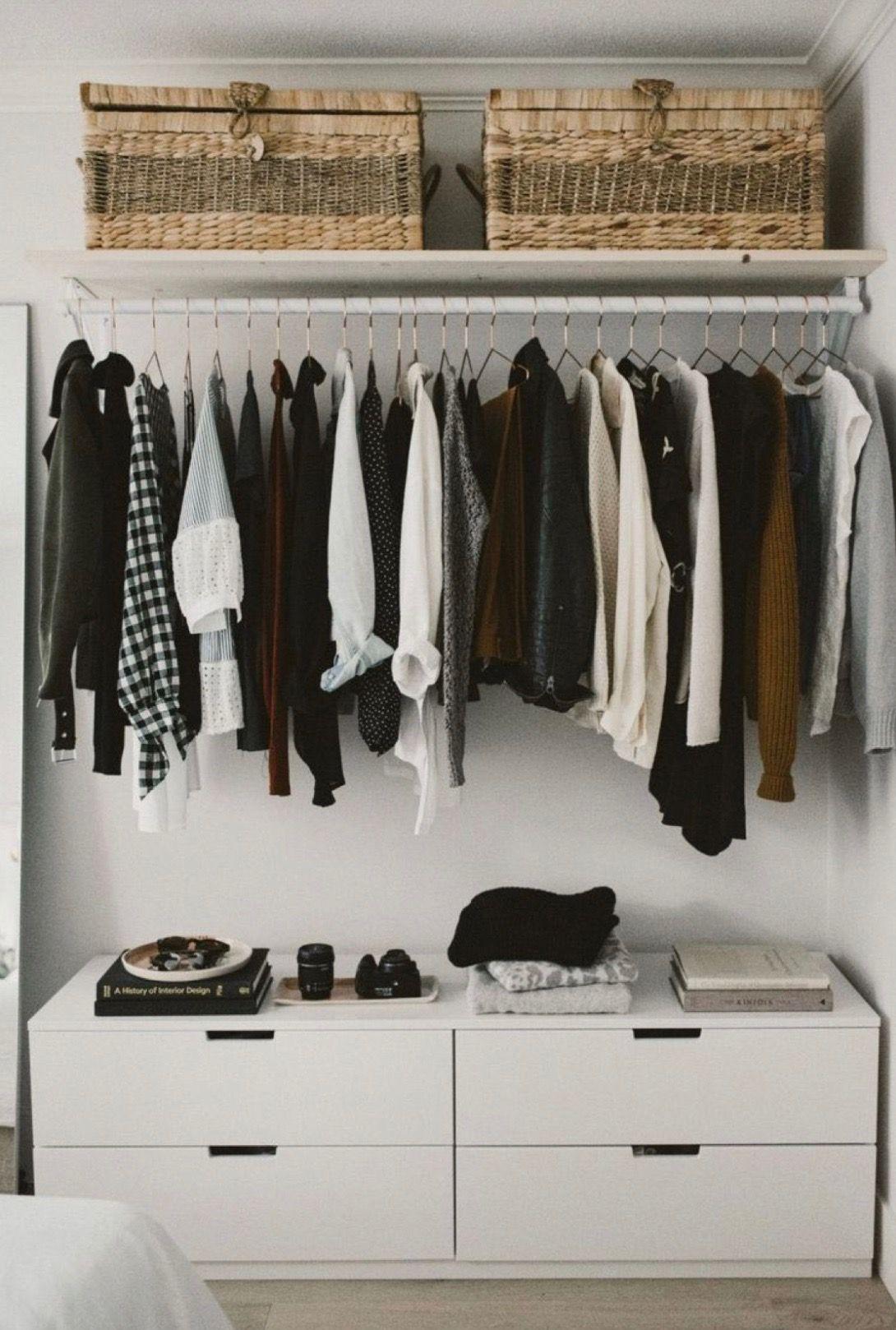 Pinterest Eydeirrac Bedroom Organization Closet Small