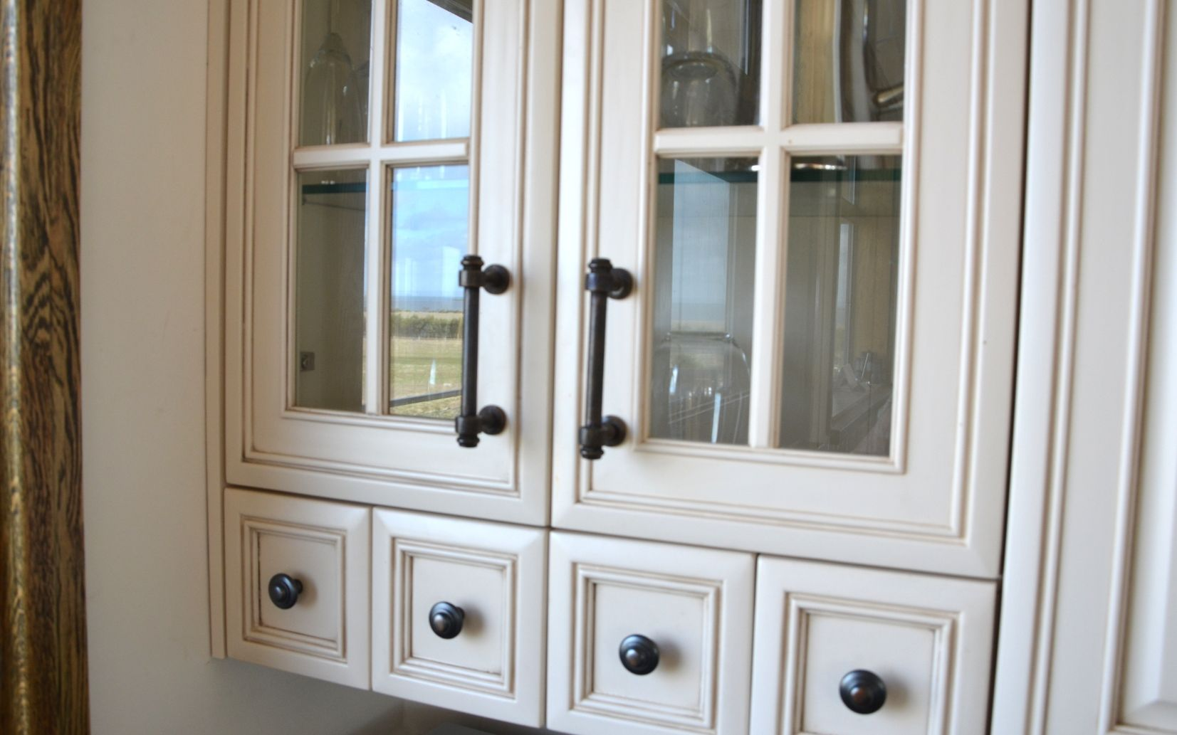 Customer Photo Of Kitchen Cabinets With A Beautiful Farm Reflection. Get  This Look With Schots