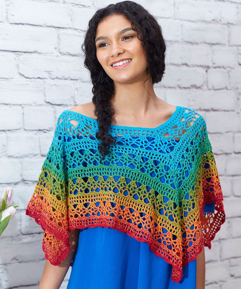 eafa9e8b9c65f Fire and Ice Poncho