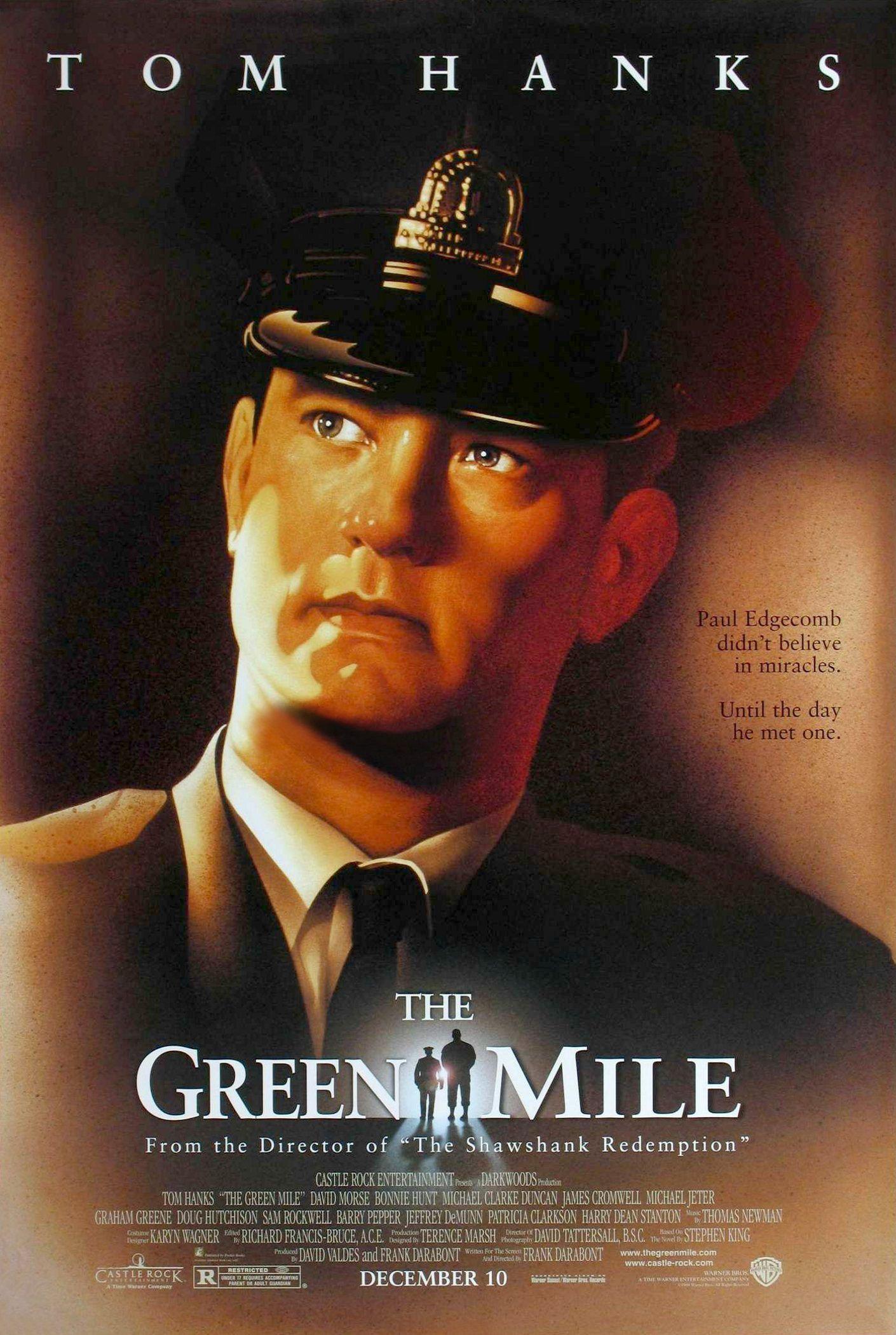 A Espera De Um Milagre The Green Mile Frank Darabont Filmes