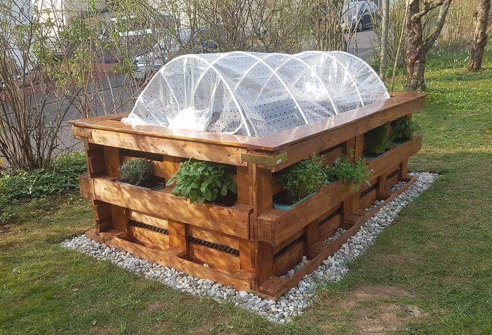 Pin By Nativeangel On Garden In 2020 Pallet Furniture Designs Diy Garden Bed Diy Pallet Furniture