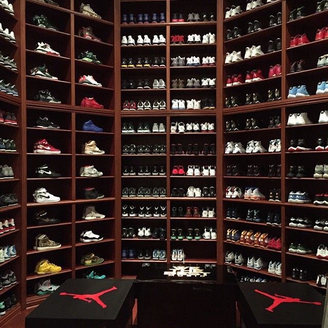 DJ Khaleds Sneaker Room