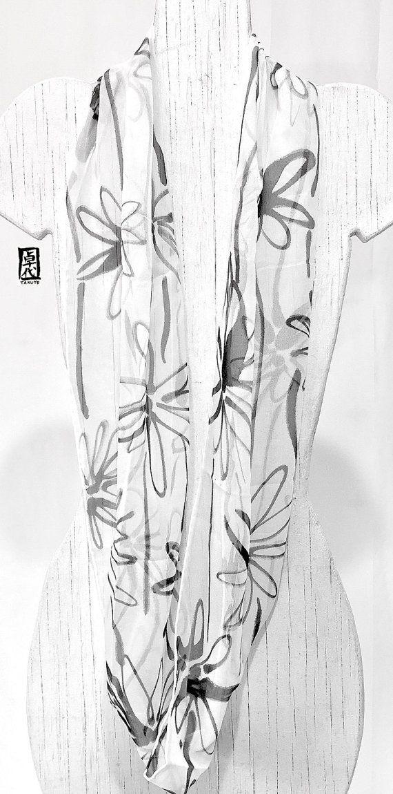 Fashion Boho sjaal oneindigheid lus sjaal door SilkScarvesTakuyo