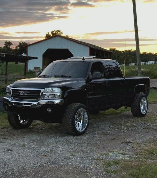 Gmc Duramax With Images Jacked Up Trucks Chevy Pickup Trucks